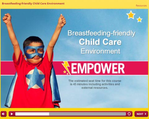 Empower Training: Breastfeeding-Friendly Child Care Environment