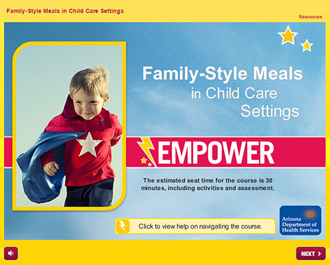 Empower Training: Family-Style Meals in Child Care Settings